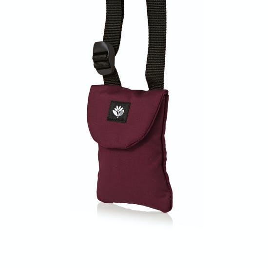 Magenta Pouch Messenger Bag