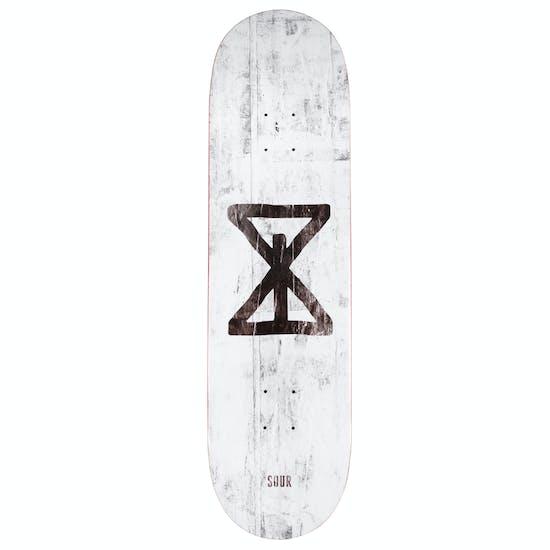 Sour Sourglass 8.5 Inch Skateboard Deck
