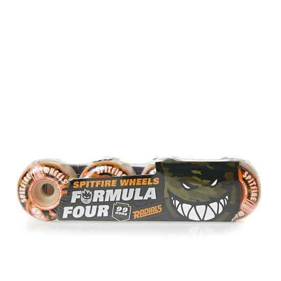 Spitfire Formula Four Radial 99du Covert 53mm Skateboard Wheel