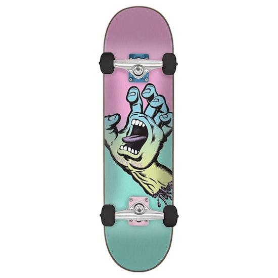 Santa Cruz Pastel Screaming Hand 6.75in Skateboard