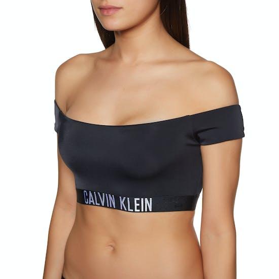 Calvin Klein Intense Power Off Shoulder Bikini Top