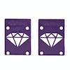 Diamond Supply Co Rise And Shine Skateboard Risers - Purple