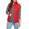 Joules Fallow Padded Womens Body Warmer - Red