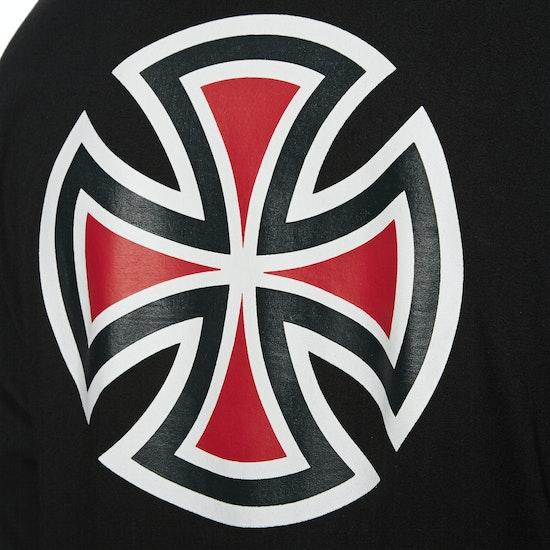 Independent Bar Cross T-Shirt Lange Mouwen