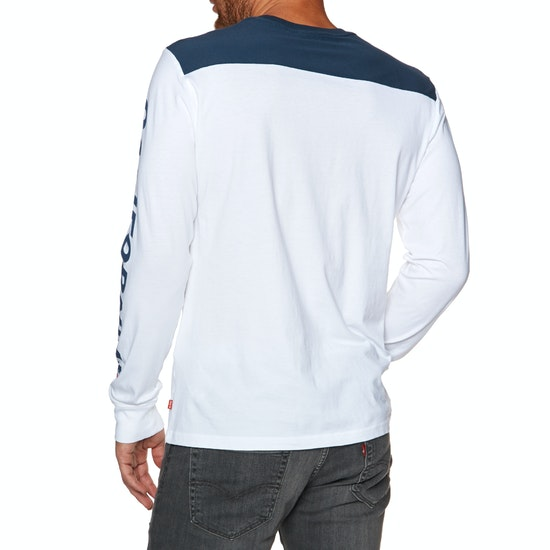 Levi's Pieced Graphic Long Sleeve T-Shirt