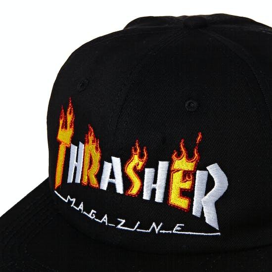 Thrasher Flame Mag Snapback Cap