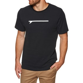 Surf Perimeters The Icon Board Print Short Sleeve T-Shirt - Black