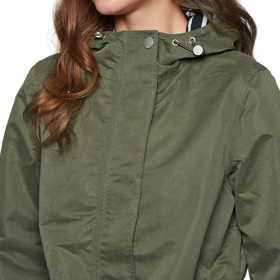 Joules Raine Mid Length Womens Waterproof Jacket