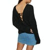 Billabong Backed Up Womens Sweater - Black