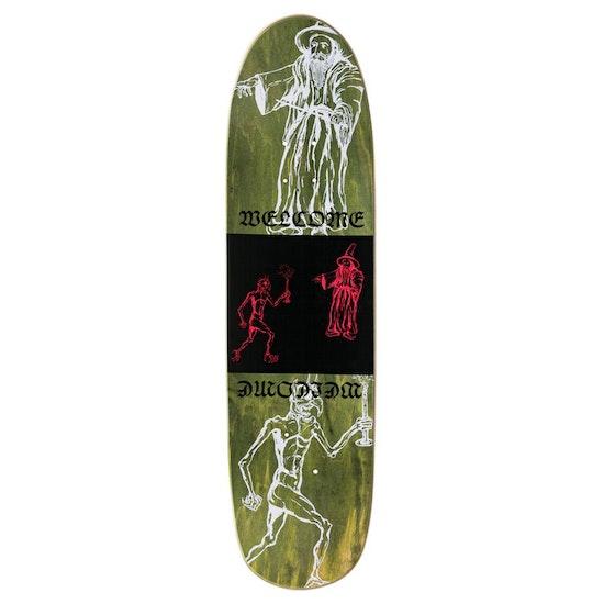 Welcome Go Darker on Psyanka 8.5 in Skateboard Deck