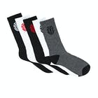 Element High Rise 5 Pack Mens Socks