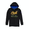 O Neill California Boys Zip Hoody - Black Out