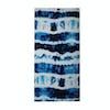 Beach Towel Slowtide Indigo Sun - Navy/white