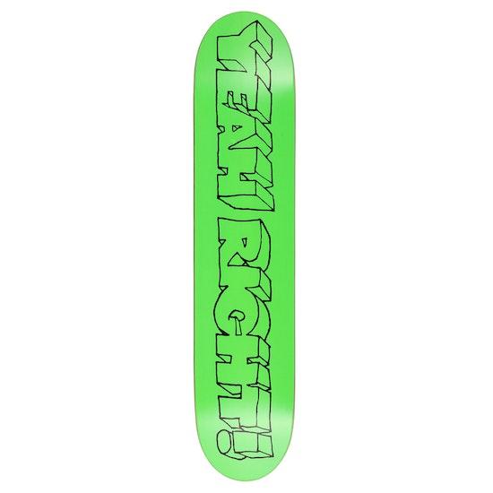 Girl Yeah Right 8 Inch Skateboard Deck