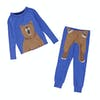 Joules Kipwell Top And Bottoms Boys Pyjamas - Dazzling Blue