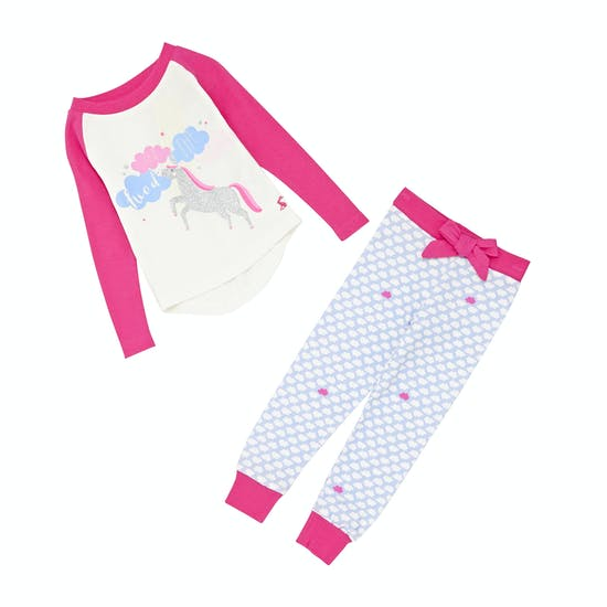 Joules Sleepwell Set Girls Pyjamas