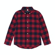 Joules Sark Linen Checked Boys Shirt