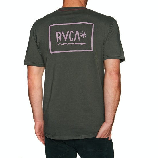 T-Shirt de Manga Curta RVCA Squig