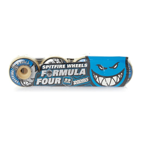 Spitfire Formula Four Radial 99DU 52mm Skateboard Wheel