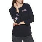 Volcom Pop Rocket Raglan Ladies Long Sleeve T-Shirt