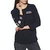Volcom Pop Rocket Raglan Womens Long Sleeve T-Shirt - Black