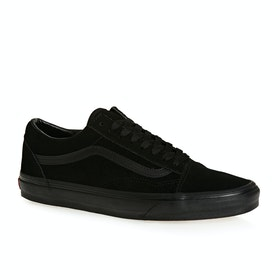 Chaussures Vans Old Skool Daim - Black Black Black