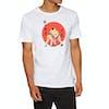 T-Shirt à Manche Courte Nike SB Wrestler - White Multi Color