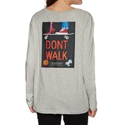 Santa Cruz Don't Walk Womens Long Sleeve T-Shirt
