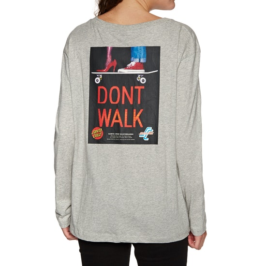 Santa Cruz Don't Walk Womens 長袖 T シャツ