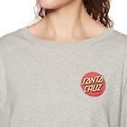 Santa Cruz Don't Walk Ladies Long Sleeve T-Shirt