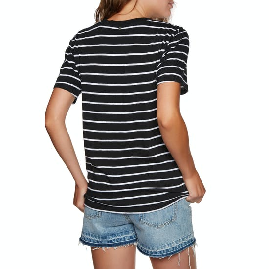 O'Neill Premium Striped Ladies Short Sleeve T-Shirt