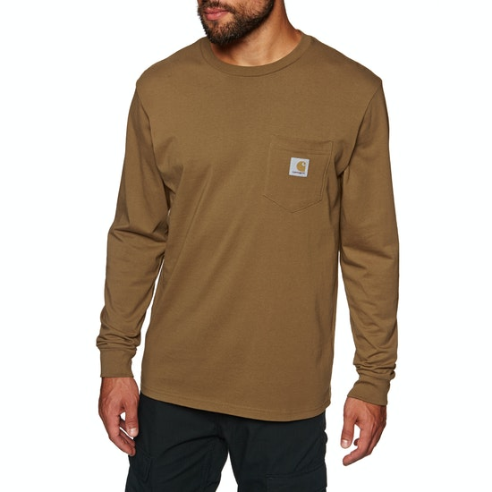 Carhartt Pocket Mens Long Sleeve T-Shirt