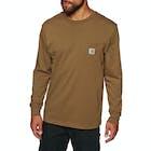 Carhartt Pocket Mens Long Sleeve T-Shirt