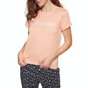 T-Shirt à Manche Courte Calvin Klein Cotton Coord Crew Neck