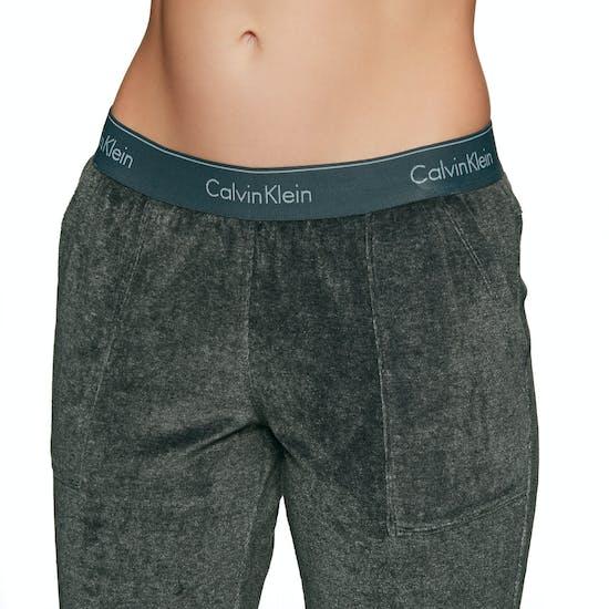 Calvin Klein Modern Cotton Velour Jogger Damen Kleidung zum Relaxen