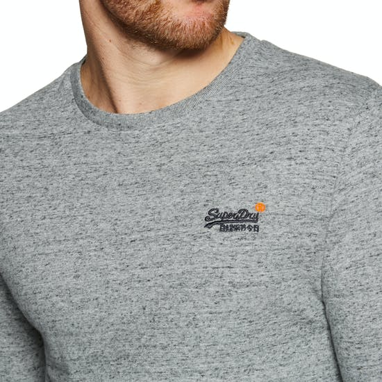 Superdry O L Vintage Embroidery Long Sleeve T-Shirt