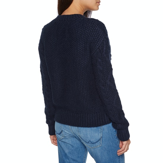 Superdry Clara Lace Knit Womens Knits