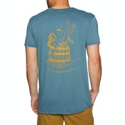 Quiksilver Gettin Barreled Short Sleeve T-Shirt