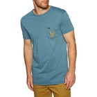 Quiksilver Gettin Barreled Mens Short Sleeve T-Shirt