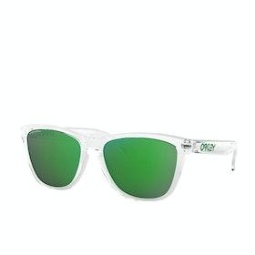 Oakley Frogskins Sunglasses - Crystal Clear ~ Prizm Jade