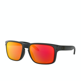 Oakley Holbrook Sunglasses - Black Camo ~ Prizm Ruby