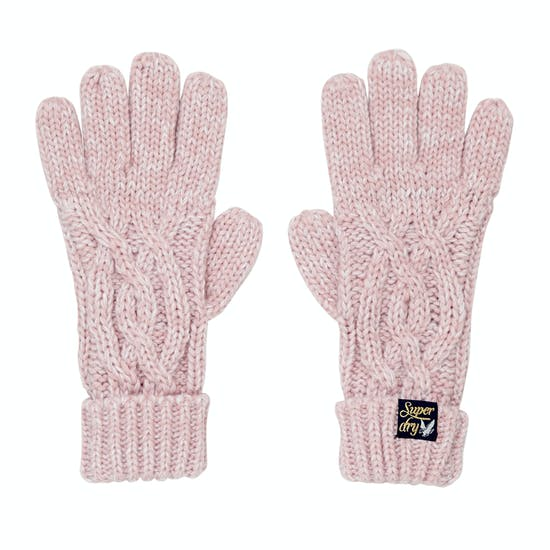 Superdry Arizona Cable Womens Gloves