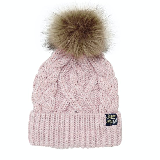 Superdry Arizona Cable Dames Beanie