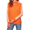 Sweat Femme Adidas Originals Trefoil Crew - Orange