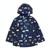 Chaqueta Boys Joules Skipper Rubber - Navy Happy Camper