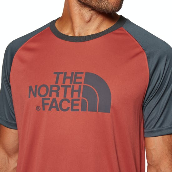 4aac6322a North Face Mc Raglan Short Sleeve T-Shirt available from Surfdome