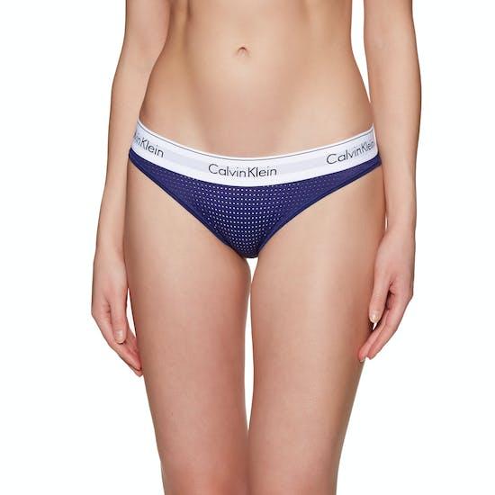 Calvin Klein Mc Perforated Micro Bikini Damen Schlüpfer