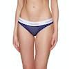 Calvin Klein Mc Perforated Micro Bikini Damen Schlüpfer - Shilo Blue