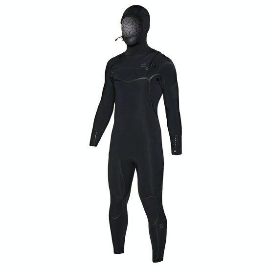 Billabong Furnace Carbon Ultra 6/5mm 2019 Chest Zip Hooded Wetsuit