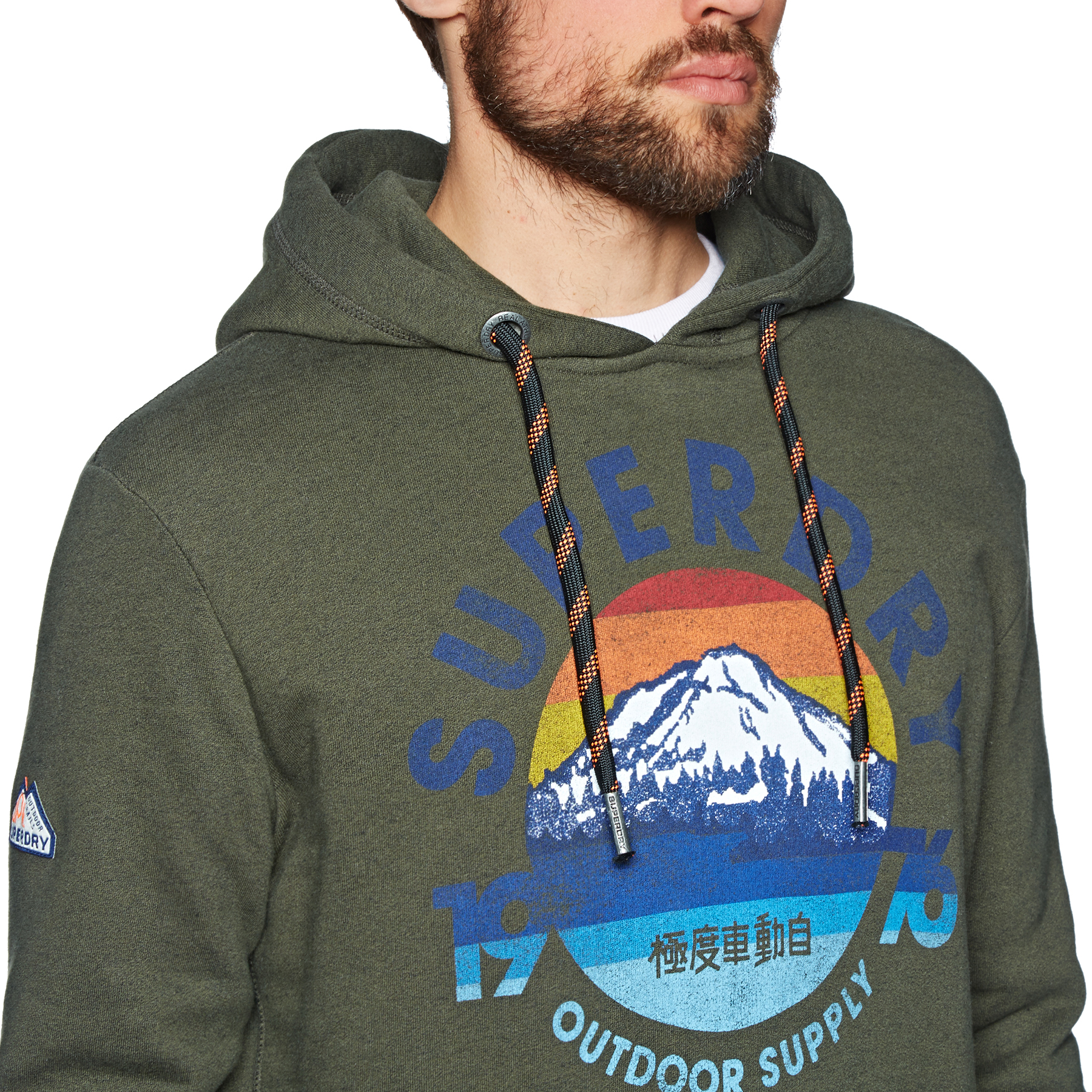 Superdry Mountain Trail Kapuzenpullover   Kostenlose